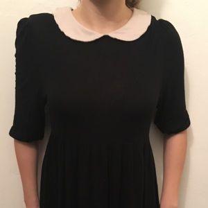 Asos petite collar dress